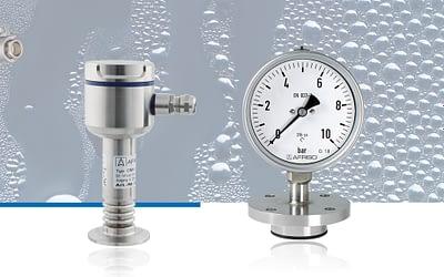 Tecnología de medición para procesos y sistemas higiénicos